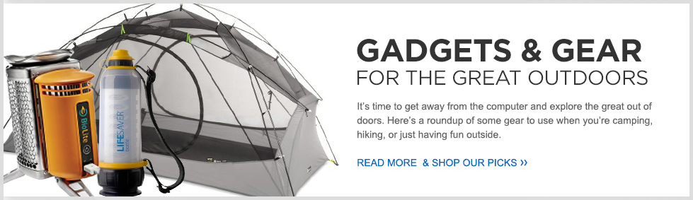Gadgets & Gear For The Great Outdoors