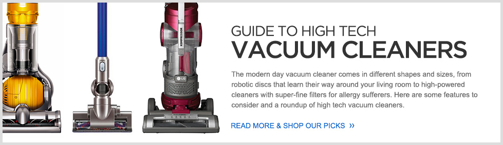Guide to High Tech Vacuum Cleaners